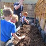 BMCG Children digging