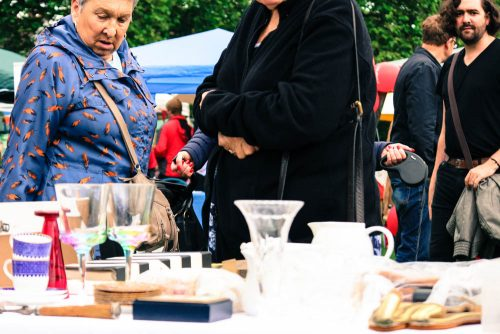 And the bric a brac stalls were full of vintage wares
