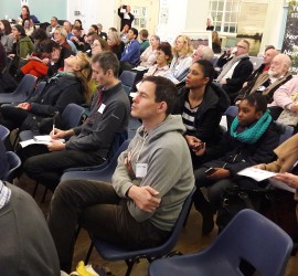 The audience at the inaugural 'Festival of Ideas for Change'.