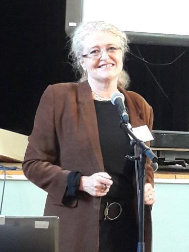 Laura Sandys, one of the Keynote speakers